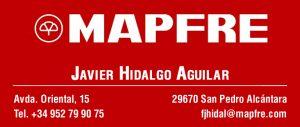 CD Sportcab Marbella - Patrocinadores - Sponsors - Mapfre - Javier Hidalgo Aguilar