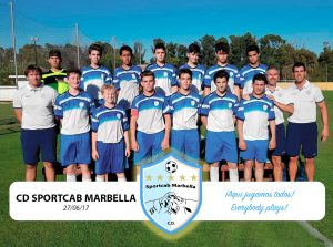 CD-Sportcab-Marbella-Primer Partido - First Match