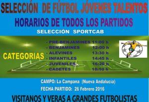 CD Sportcab Marbella - Seleccion Jovenes Talentos