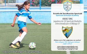 CD Sportcab Marbella -Anjali-Sing---Malaga-CF-