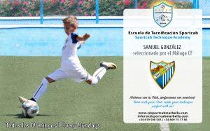 Escuela de Tecnificación Sportcab-Samuel-Gonzalez---Malaga-CF-LQ