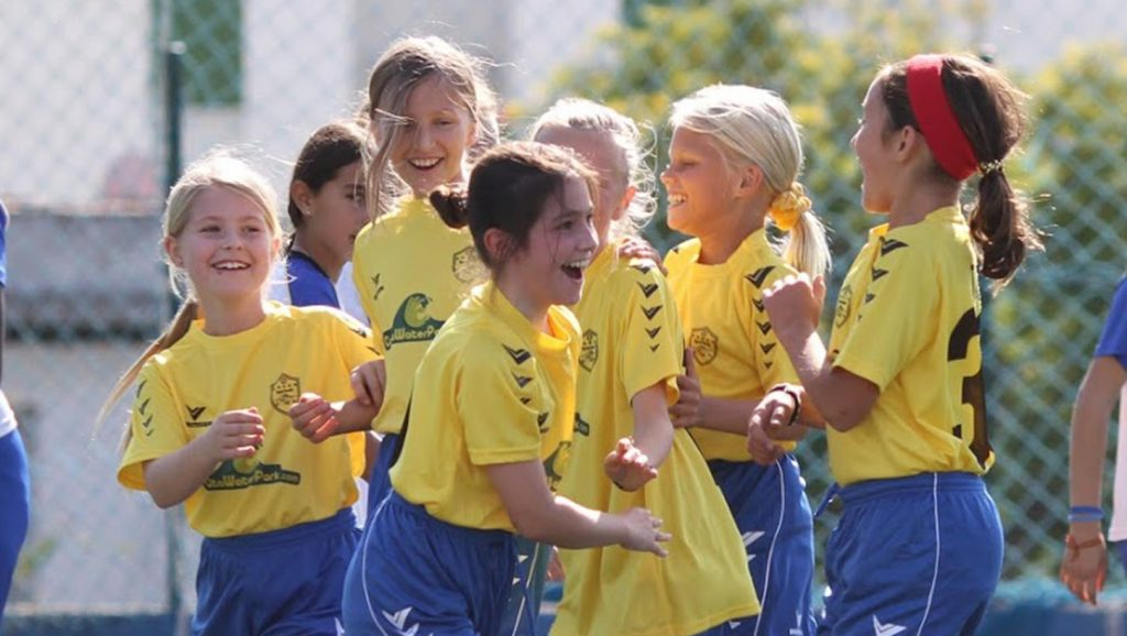 Fútbol Femenino chicas niñas Marbella San Pedro Alcantara