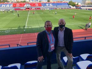 Rafael Del Amo y Diego Vera Idoate RFEF-Femenino---España---Mexico